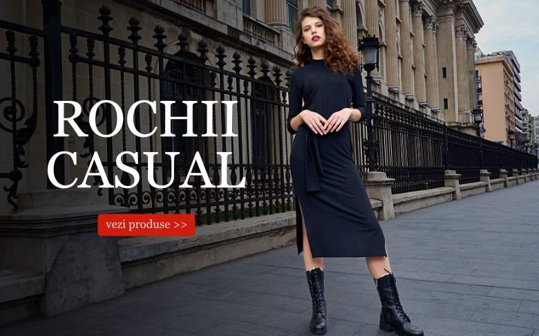 banner rochii casual